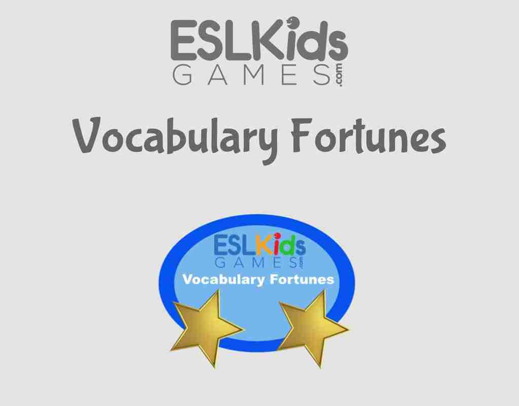 ESL-Vocabulary-Fortunes-Online Vocabulary Game