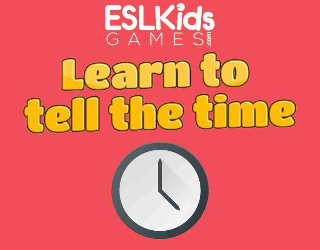 Learn to tell the time interactive online game