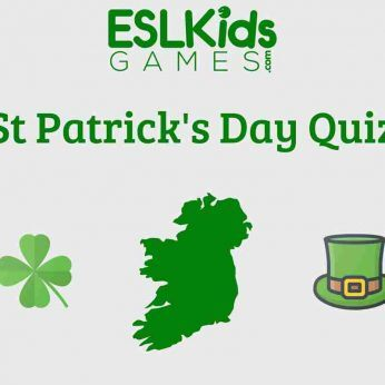 St Patrick's Day Quiz ESL Class Teens and adults
