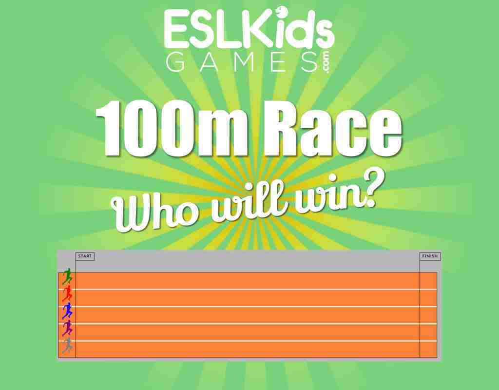 100m race game student picker online